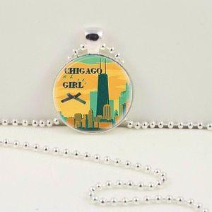Chicago Girl Pendant